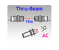 Photoelectrics-AC-Thru-M18