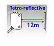 Photoelectric-retro-FR50R